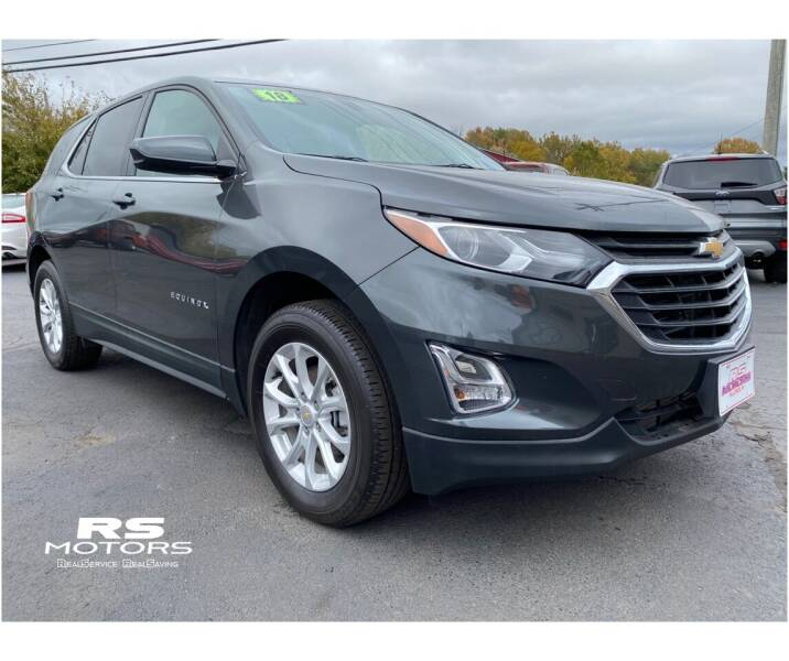 2019 Chevrolet Equinox for sale at RS Motors in Falconer NY