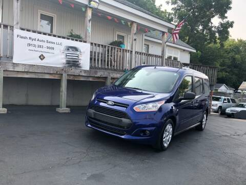 2017 Ford Transit Connect Wagon for sale at Flash Ryd Auto Sales in Kansas City KS