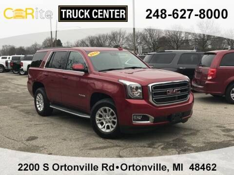 2015 GMC Yukon for sale at Carite Truck Center in Ortonville MI