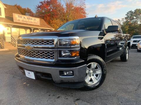 2015 Chevrolet Silverado 1500 for sale at Mega Motors in West Bridgewater MA