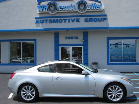 2013 Infiniti G37 Coupe for sale at The Wholesale Outlet in Blackwood NJ
