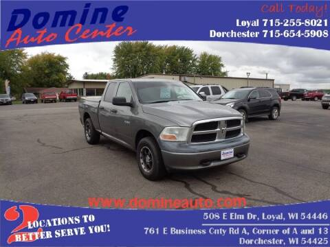 2009 Dodge Ram Pickup 1500 for sale at Domine Auto Center in Loyal WI