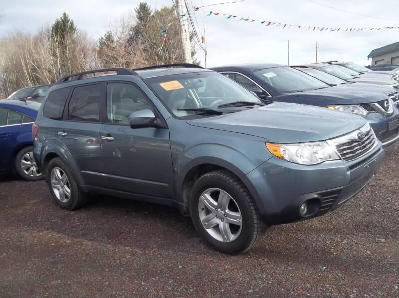 2010 Subaru Forester for sale at Warner's Auto Body of Granville Inc in Granville NY