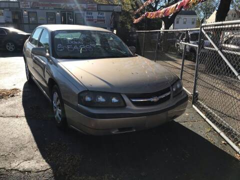 2005 Chevrolet Impala for sale at Chambers Auto Sales LLC in Trenton NJ