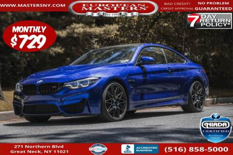 2020 BMW M4 for sale at European Masters in Great Neck NY