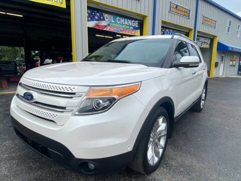 2011 Ford Explorer for sale at RoMicco Cars and Trucks in Tampa FL
