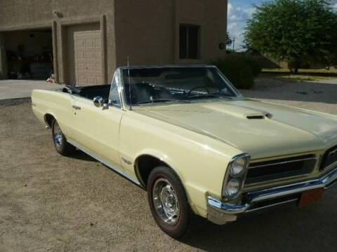 1965 Pontiac GTO for sale at Classic Car Deals in Cadillac MI