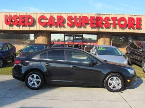 2012 Chevrolet Cruze for sale at Checkered Flag Auto Sales NORTH in Lakeland FL