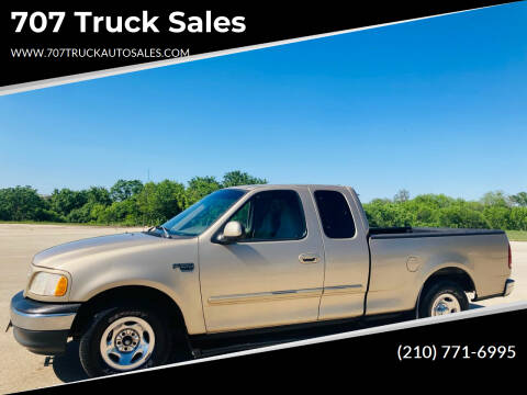 1999 Ford F-150 for sale at 707 Truck Sales in San Antonio TX