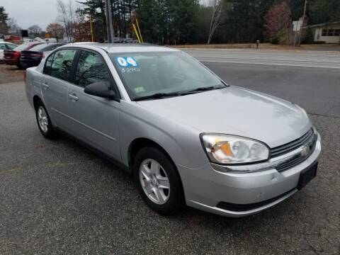 2004 Chevrolet Malibu for sale at Official Auto Sales in Plaistow NH