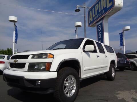 2009 Chevrolet Colorado for sale at Alpine Auto Sales in Salt Lake City UT