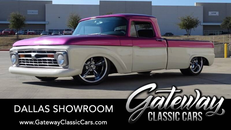 1966 Ford F-100 for sale in Grapevine, TX