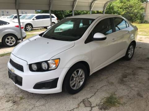 2013 Chevrolet Sonic for sale at Quality Auto Group in San Antonio TX
