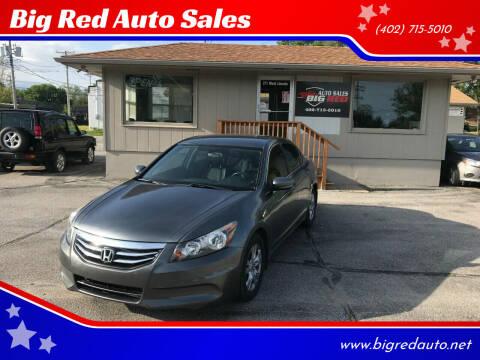 2012 Honda Accord for sale at Big Red Auto Sales in Papillion NE