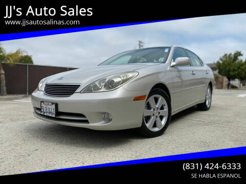 2005 Lexus ES 330 for sale at JJ's Auto Sales in Salinas CA
