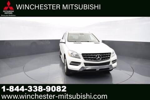 2014 Mercedes-Benz M-Class for sale at Winchester Mitsubishi in Winchester VA