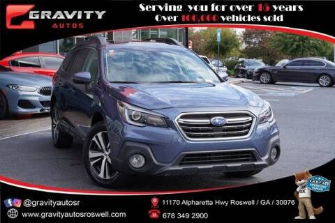 2018 Subaru Outback for sale at Gravity Autos Roswell in Roswell GA