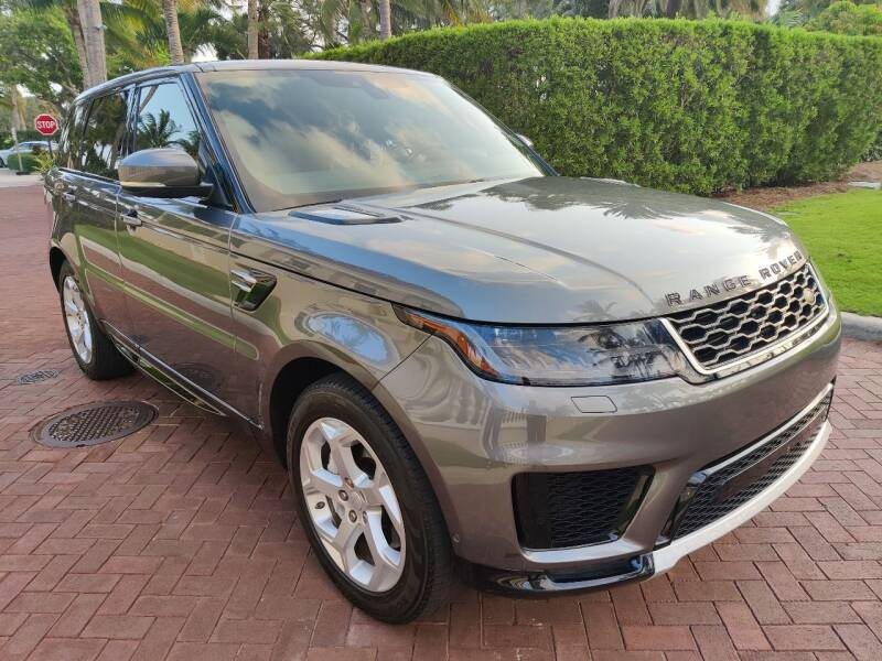 2018 Land Rover Range Rover Sport for sale at LIBERTY AUTOLAND INC in Jamaica NY
