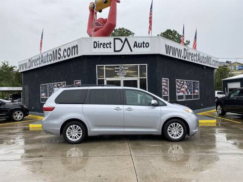 2017 Toyota Sienna for sale at Direct Auto in D'Iberville MS