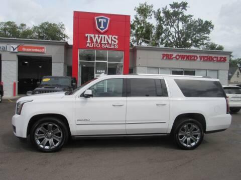 2015 GMC Yukon XL for sale at Twins Auto Sales Inc in Detroit MI