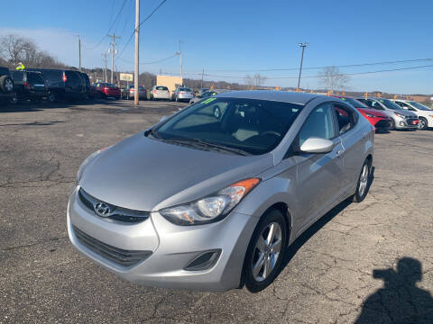 2011 Hyundai Elantra for sale at Carmans Used Cars & Trucks in Jackson OH