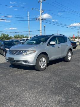 2012 Nissan Murano for sale at CANDOR INC in Toms River NJ