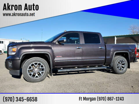 2014 GMC Sierra 1500 for sale at Akron Auto - Fort Morgan in Fort Morgan CO