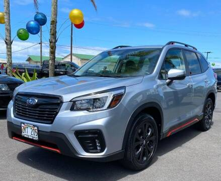 2021 Subaru Forester for sale at PONO'S USED CARS in Hilo HI