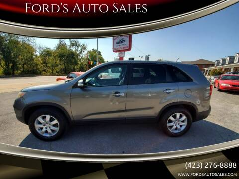 2011 Kia Sorento for sale at Ford's Auto Sales in Kingsport TN