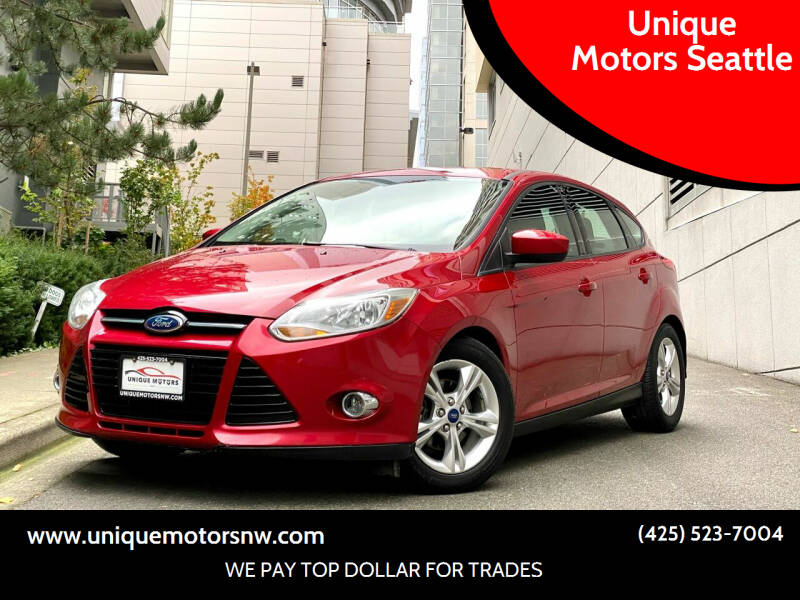 2012 Ford Focus for sale at Unique Motors Seattle in Bellevue WA