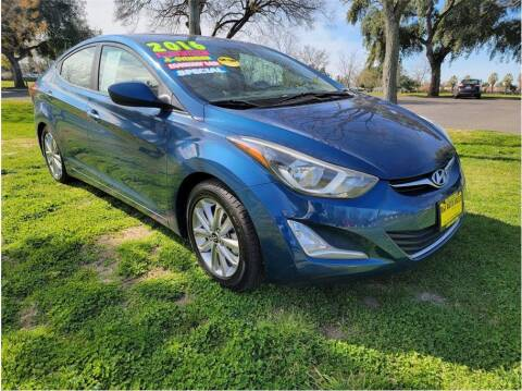 2016 Hyundai Elantra for sale at D & I Auto Sales in Modesto CA