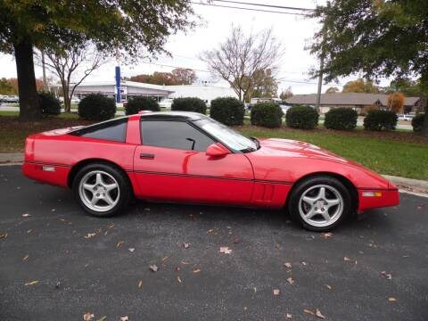 1989 Chevrolet Corvette for sale at Carolina Classics & More in Thomasville NC