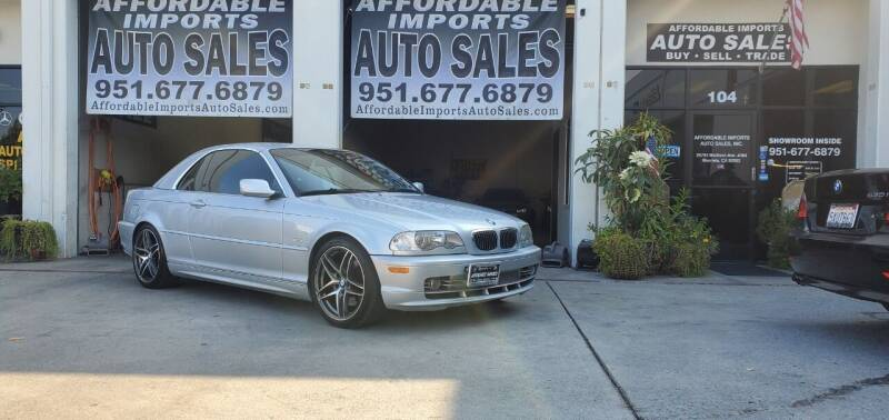 2003 BMW 3 Series for sale at Affordable Imports Auto Sales in Murrieta CA