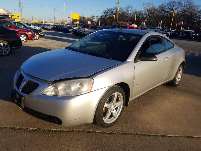 2009 Pontiac G6 for sale at Nile Auto in Fort Worth TX