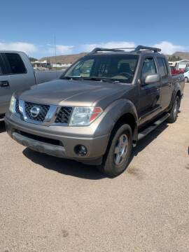 2005 Nissan Frontier for sale at Poor Boyz Auto Sales in Kingman AZ