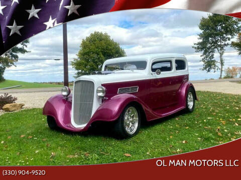 1934 Chevrolet 210 for sale at Ol Man Motors LLC in Louisville OH