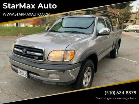 2001 Toyota Tundra for sale at StarMax Auto in Fremont CA