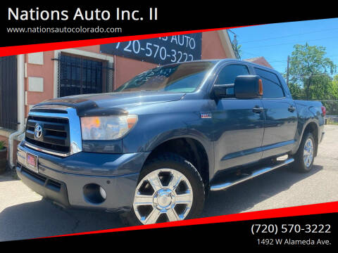 2010 Toyota Tundra for sale at Nations Auto Inc. II in Denver CO