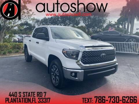 2020 Toyota Tundra for sale at AUTOSHOW SALES & SERVICE in Plantation FL
