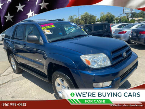2005 Toyota 4Runner for sale at Thunder Auto Sales in Sacramento CA