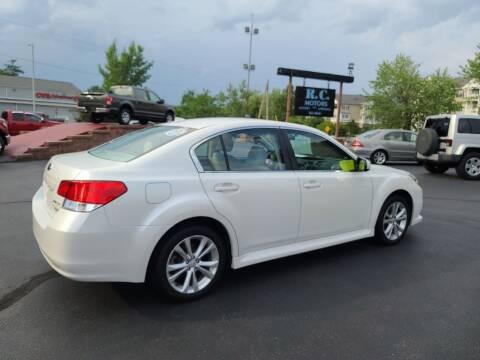 2014 Subaru Legacy for sale at R C Motors in Lunenburg MA