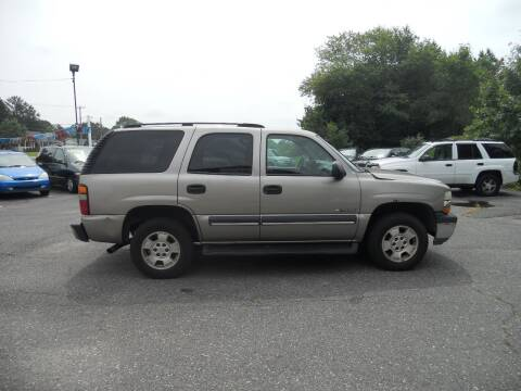 2003 Chevrolet Tahoe for sale at All Cars and Trucks in Buena NJ