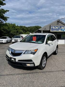 2011 Acura MDX for sale at Frontline Motors Inc in Chicopee MA