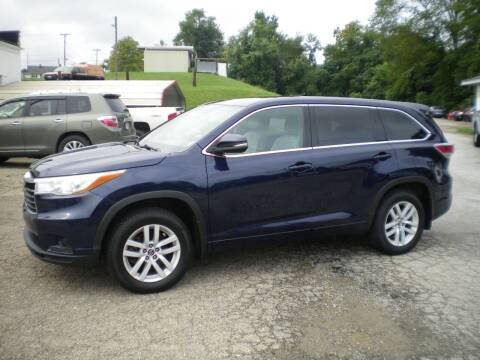2016 Toyota Highlander for sale at Starrs Used Cars Inc in Barnesville OH