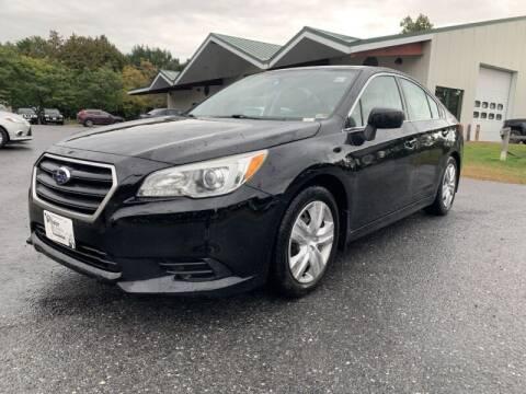 2015 Subaru Legacy for sale at Williston Economy Motors in South Burlington VT