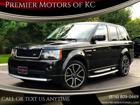 2013 Land Rover Range Rover Sport for sale at Premier Motors of KC in Kansas City MO