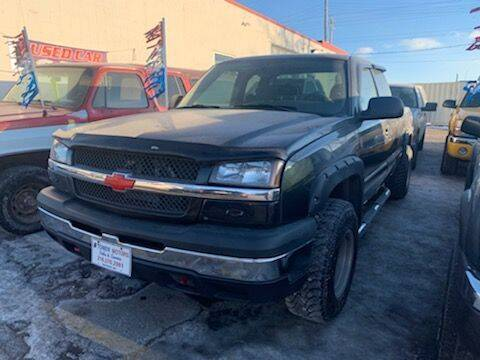 2004 Chevrolet Silverado 1500 for sale at Tower Motors in Brainerd MN