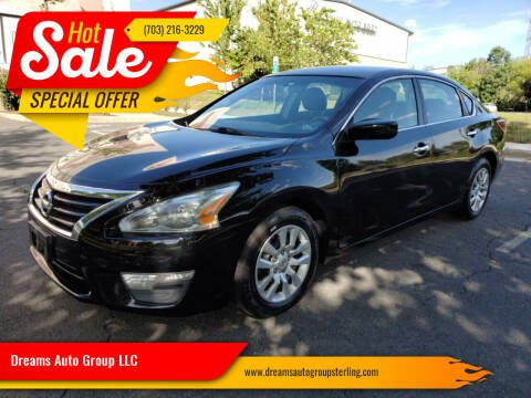 2013 Nissan Altima for sale at Dreams Auto Group LLC in Sterling VA