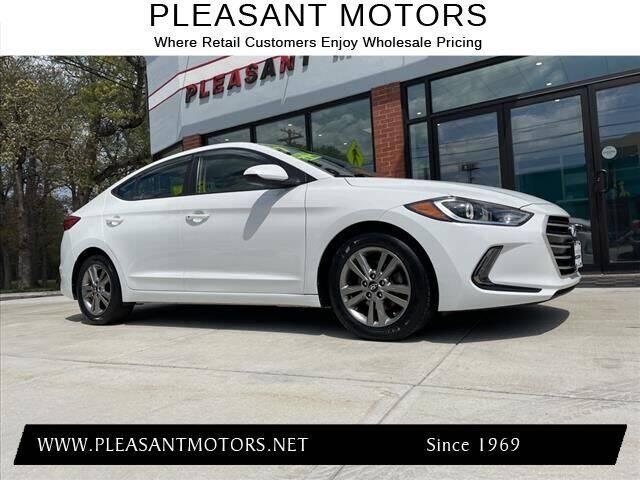 2017 Hyundai Elantra for sale at Pleasant Motors in New Bedford MA