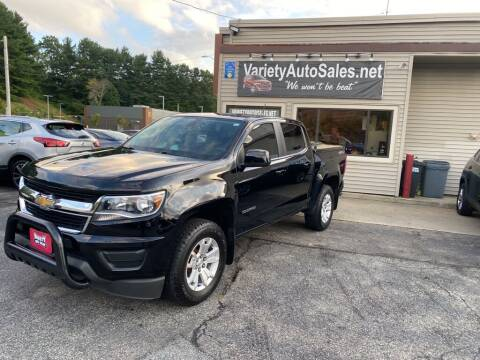2018 Chevrolet Colorado for sale at Variety Auto Sales in Worcester MA